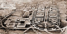 Sharp and Thompson campus plan - 1914
