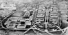 Sharp & Thompson campus plan 1914