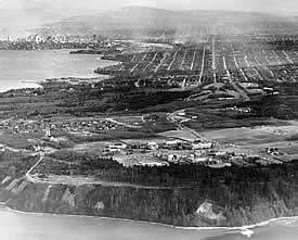 UBC Point Grey campus - 1945