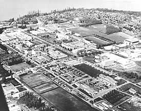 UBC Point Grey campus - 1958