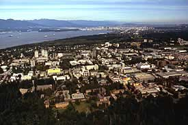 UBC Point Grey campus - 1997