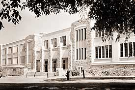 Physics Building - 1940s